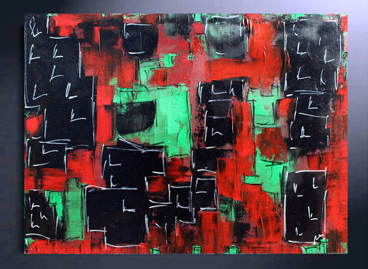 Richard Toveen - Tbilisi (Georgia) - olio su tela - 80 x 60