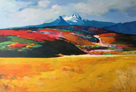 Vladimir Kolianov - Ucraina - olio su tela - 90 x 60