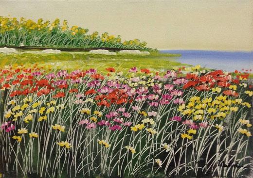 Mantovani Costanzo  (Italia) - Paesaggio - olio su tela 70 x 50