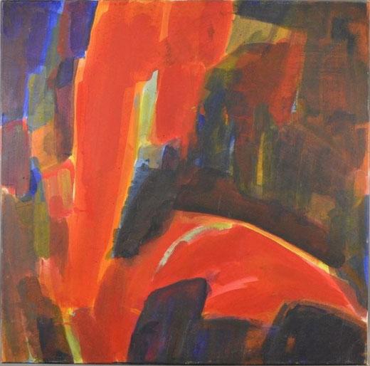 Olivier Steffens - Astratto - olio su tela - 80 x 80