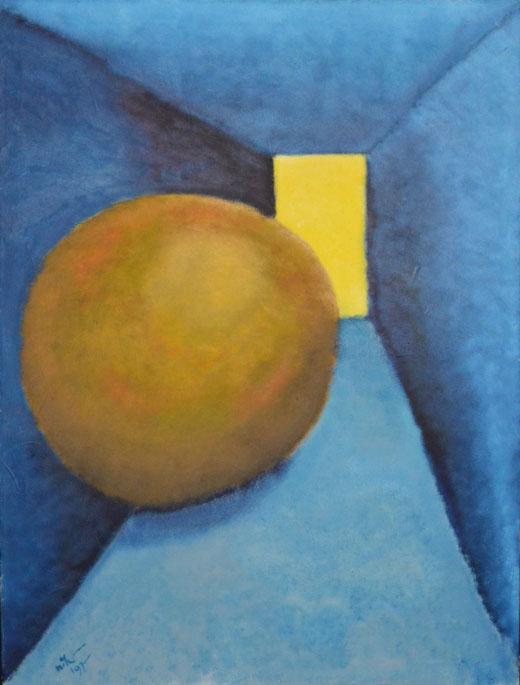 Lange Nikolas - Visioni - olio su tela - 124 x 93,5
