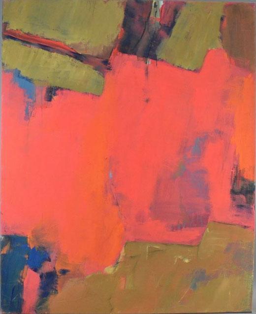 Olivier Steffens  - Astratto - olio su tela - 100 x 80