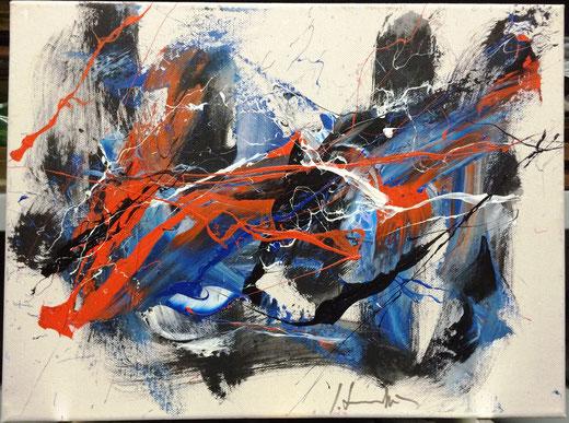 Formichetti Silvio (Italia) - Teatrini - olio su tela - 30 x 24