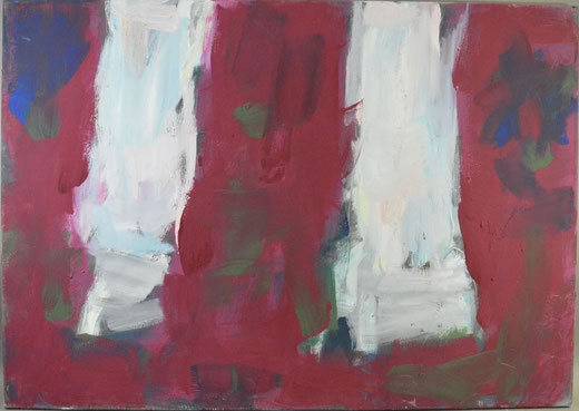 Olivier Steffens - Astratto - olio su tela - 100 x 70