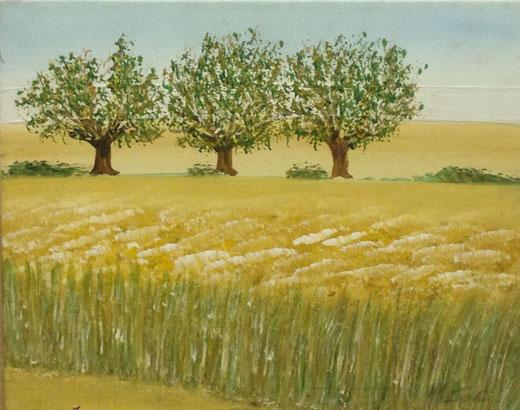 Mantovani Costanzo (Italia) - Paesaggio - olio su tela - 50 x 40