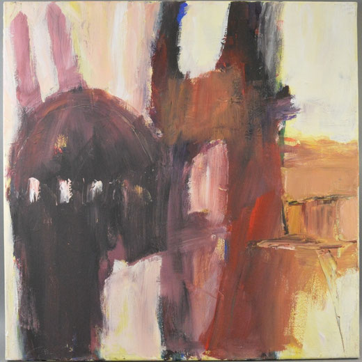 Olivier Steffens - Santa Sofia - olio su tela - 60 x 60