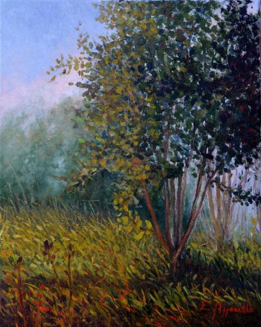 Azzarello Erika  - Autunno Olio, Tela, 40x50cm
