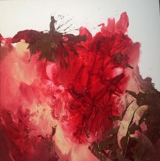 Eleanor Grove - Blurred Edges - acrilico su tela 60 x 60