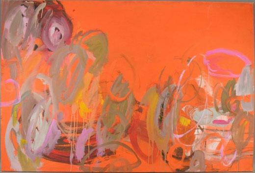 Olivier Steffens  - Astratto - olio su tela - 120 x 80