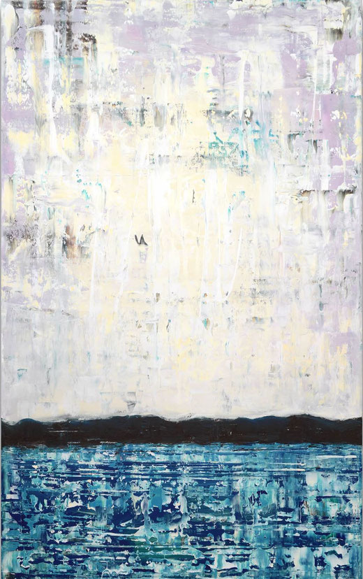 Viktor Bonn - Coast-  olio su tela - 150 x 90