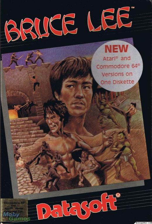 Bruce Lee atari 8 bit