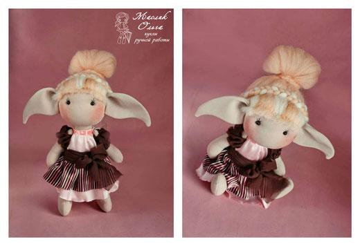 Кукла эльф. Такстильные куклы Маслик Ольги