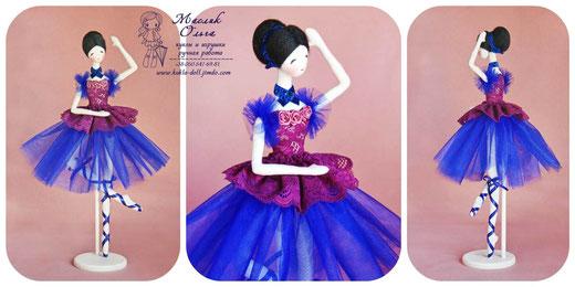 корейская куколка, тряпиенса, балерина. Маслик Ольга