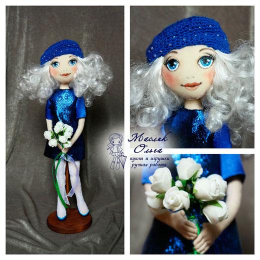 Кукла тыквоголовка, авторская, Маслик Ольга