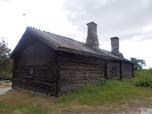 わざわざ移設された数百年も昔の木造住宅