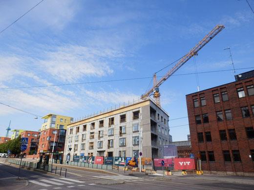 最近の建物は石造ではなくRC造