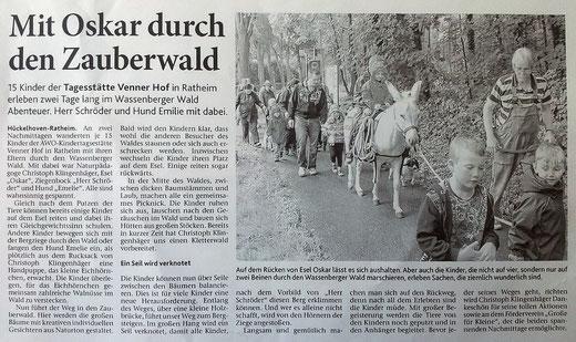 Heinsberger Zeitung, 2012