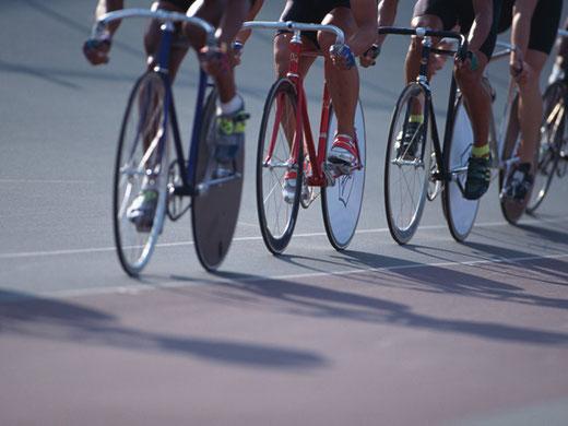自転車オイルのシミ