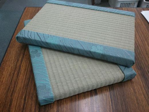 ミニ畳(mini tatami)miniature tatami mat  tatami mouse pad  畳のマウスパッド ミニチュアたたみ 和小物 和風素材 お土産用ミニ畳 サイズ20×15×1.5㎝