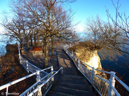 Rügen - Aussichtsplattform am Königsstuhl
