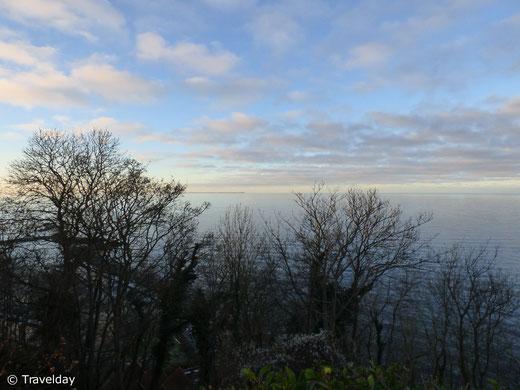 Rügen - Aussich von der Steilküste in Lohme