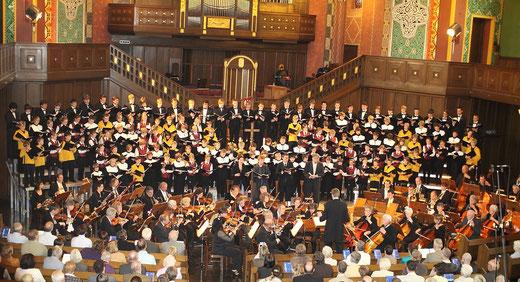 Jubiläumskonzert am Pfingstwochenende 2010 in der Lutherkirche
