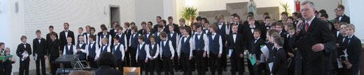 Gemeinsames Konzert in der Auferstehungskirche von Kaunas (Litauen)