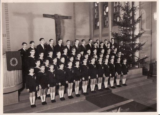 Der Wiesbadener Knabenchor 1965