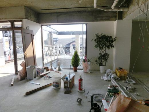 サロン店の内装工事