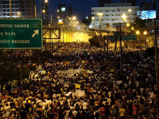 Proteste in Rio Grande do Norte; Foto: Isaac Ribeiro (CC BY-SA 2.0)