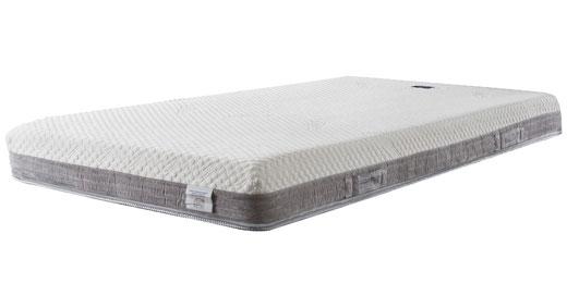 一枚仕立てのモデルローマ。エリオセルMF5cm+エリオセル10cm+保護カバーを加え、総厚16cmのゴージャス仕様。