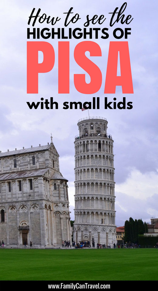 Wondering how to get the most of our your trip to Pisa, Italy with kids? Here is how we saw the highlights! | Family Travel | Pisa, Italy | #familytravel #italy #pisa #travelwithkids