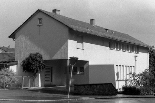 St. Elisabethenhaus (Schwesternstation mit Kindergarten und Nähschule), Maximilianstraße 99, eingeweiht am 06. Juli 1952