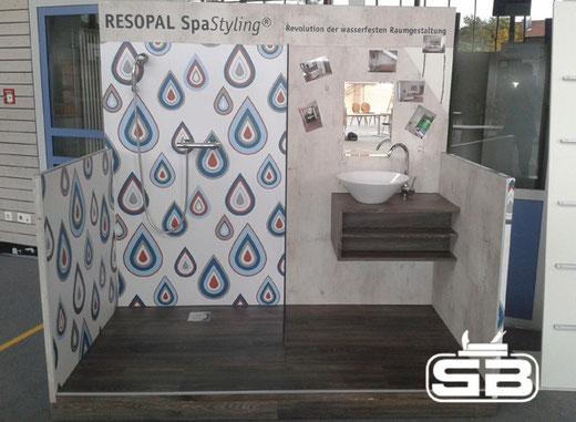 Fugenlose Dusche Wandverkleidung : Unsere SpaStyling®-Musterdusche ...