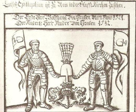 Die Herren Wolfgang und Andre von Graben