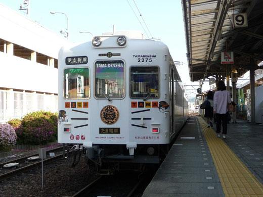 5月12日 和歌山電鉄和歌山駅にて撮影