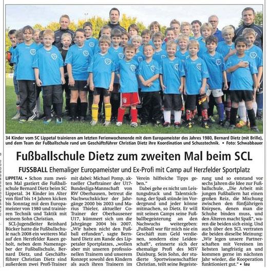 Soester Anzeiger vom 20.10.2012