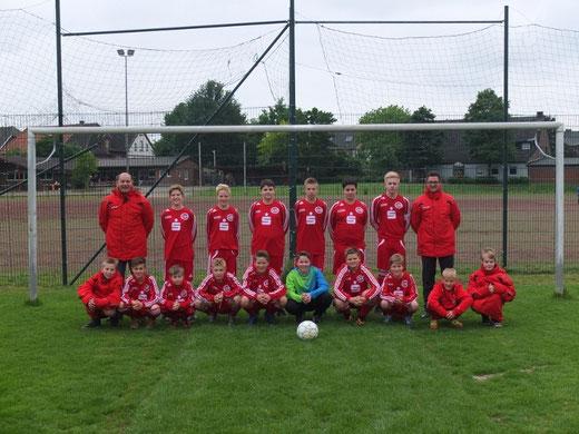 Meistermannsachaft D-Jugend 2013/2014