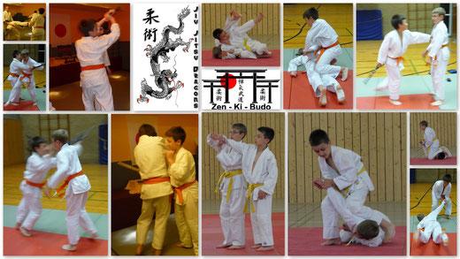 Die Jiu Jitsu Dragons - Unsere Jugendgruppe