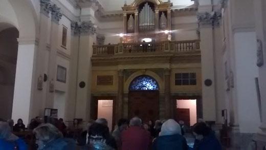 """Primo concerto al Duomo di Tarquinia, organista Angelo Bruzzese col programma """"L'organo ...all'Opera!"""""""