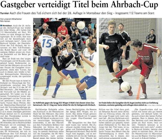 Quelle: Westerwälder Zeitung vom 07.01.13