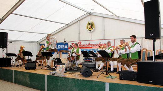 Blasmusik vom Feinsten gab es von den Innsbrucker Böhmischen