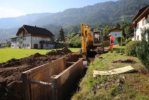 """Der Untere Kanalstrang vom """"Oberle"""" hinauf zum Ladstädter und Waltl Erwin"""