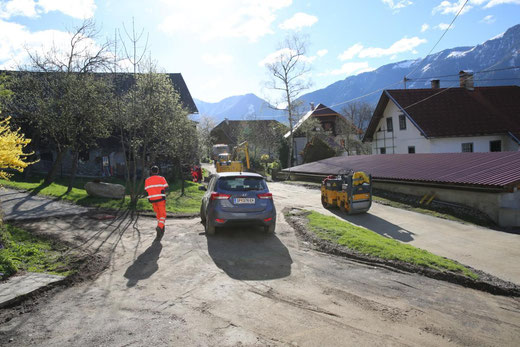 Feinplanie im Oberdorf