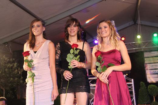 v.lk. - 2. Platz - Jasmin Strasser, 1. Platz - Serafina Pedone, 3. Platz - Sandra Risser