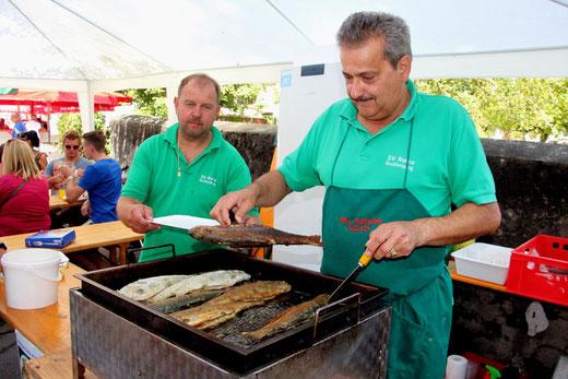 """hervorragend zubereitete Fische gab es von unserem 5-Sterne-Koch """"Joe"""""""