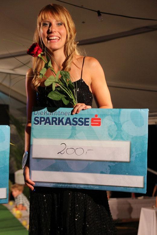 3. Pl. Annalina Mößlacher Jg. 1991 aus Steinfeld - 200 Euro