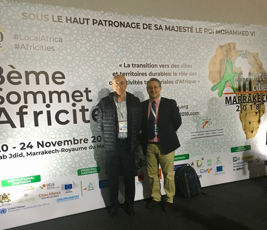 Blu Karb is invited to Africities summit to present his innovative charcoal production technology