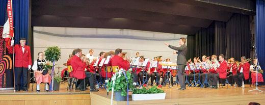 Die Musik Frohsinn Oberburg am Konzert