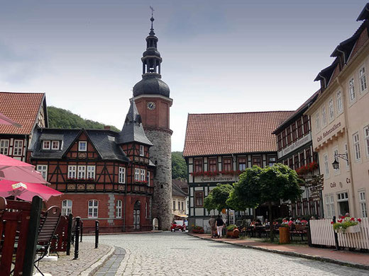 La Place du marché.